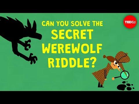 Can you solve the secret werewolf riddle? - Dan Finkel - English