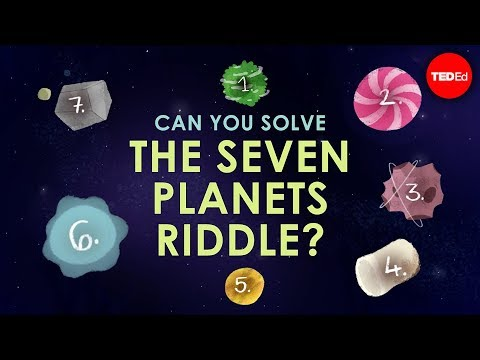 Can you solve the seven planets riddle? - Edwin F. Meyer - Englsih