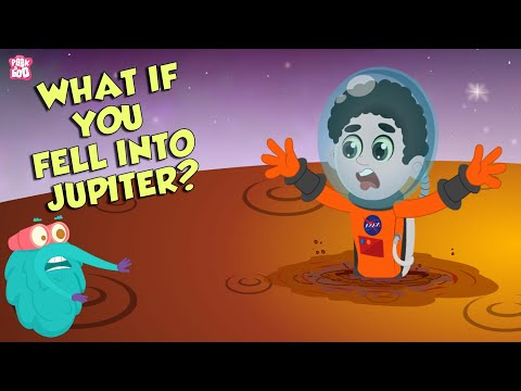 What if You Fell Into Jupiter? | Space Video | Planet Jupiter | Dr Binocs Show | English