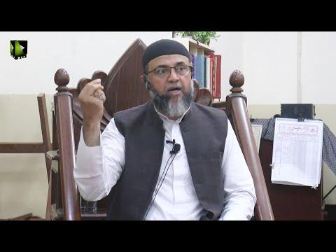 [Lecture] Imam Khomeini Ahad Saaz Shaksiyat | Moulana Ali Naqi Hashmi | 12 June 2021 | Urdu
