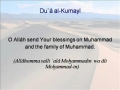 Dua Kumayl Recited by Sheikh Ali Naqvi (with Transliteration) - Arabic sub English