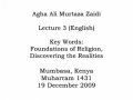 [Audio] - AMZ- Lectures for Youth -Kenya- Lec 3- Religious Foundations - English