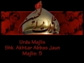 Qualities of Companions of Imam Hussain a.s - Majlis 5 - Agha Jaun - Mohrm1431-Urdu
