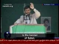 President Ahmadinejad - DEATH TO ISRAEL - Persian Sub English