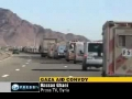 Egypt forces the convoy to Reroute Jan 2010 English