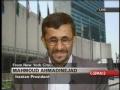 Mahmoud Ahmadenijad at National Press Club NY-USA 5 of 5-English