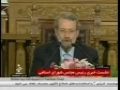 Speaker Shura-e-Islami Larijani - Press Conference Slams US-UK March 16th -2010 - Farsi