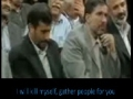 [ENGLISH] The Lady who made President Ahmadinejad Cry - Farsi sub English