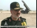 IRI Military Drill - Great Prophet 5 **BIG SUCCESS**- News Interview with Sipah Leader -Farsi