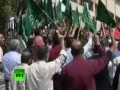 Middle East Fury Video of angry protests as Israel attacks Gaza Freedom Flotilla - 31May2010 - English
