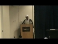 EAC - Panel 1 - Sh. Saed Kulayni - Community - English