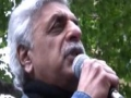 Freedom Flotilla Massacre protest | Tariq Ali | London 31 May 2010 - English