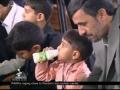 Zardari MUST LEARN From Ahmadinejad (Having Iftar With ORPHANS) - Farsi