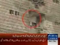 Karachi Procession Firing video - 7 Injured - Urdu