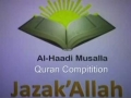 [3] The Noble Quran Challenge for kids- Al-Haadi Musalla - English Arabic