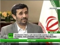 President Ahmadinejad interview with RT - 21 Sep 2010 - English
