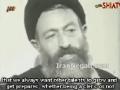 Shaheed Ayatollah Beheshti on the role of clerics and non-clerics - Farsi sub English