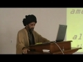 [1 of 2] Imamat & Walayat - H.I. Syed Abbas Ayleya - Atlanta - English