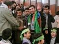 Asia 2 Gaza Caravan Meets Ahmadinejad - Maraje Karam Qum - March towards Gaza Slide Show