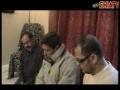 26th December – Mersia by Brother Askari Rizvi and Brother Shabbir Rizvi - Urdu