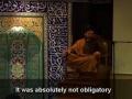 Seyyed Shams - Arbain 2008 - Night 8 - Ignorance