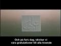 Vår älskade mästare Ali(A)  Swedish subtitle