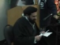 Moulana Hasan Mujtaba Rizvi Calgary 2011 Q&A part 3 youth - English