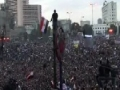 Clips from protests in Egypt - 04 Feb 11 - All Languages