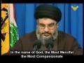 Nasrallah speaking about prisoner swap - Arabic Sub English