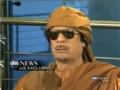 Gaddafi Interview: They Love Me All  - 1st Mar 2011 - English