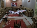 The stormed house of Mr.Abdulwahab Hussain in Bahrain - english