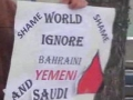 Calgary, Canada protest for Bahrain March 2011 part 2 - English