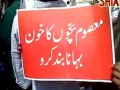 Protest in Dehli  against Bahraini and Saudi Forces - 17Apr2011 - All Languages