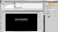 Part 1 Flash CS4 Full Website Template Load bar and Intro tutorial - English