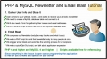 6 Mass Email Website Newsletter Bulk Batch Send Tutorial PHP MySQL - English
