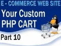 10 E Commerce Website Tutorial Shopping Cart PHP Multidimensional Array - English
