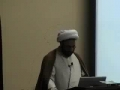 Tri-State Camp - Halal & Haram of Meeting & Eating - H.I. Hurr Shabbiri - English