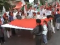Public support of the oppressed people of Bahrain in Lahore - Urdu