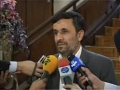 مصاحبه در حاشيه هيات دولت Ahmadinejad Interview - 29Jun2011 - Farsi