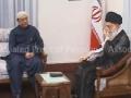 President Zardari meets Ayatullah syed Ali khamenei - All Languages