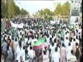 (Raw Clip5) 2011 اسقلال پاکستان کنونشن Massive Rally heads towards Parliament House - Urdu