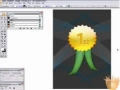 Make a Golden Award Badge in Illustrator! Tutorial - English