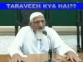 Authenticity of Taraveeh - Explanation by Maulana Ishaq - Urdu