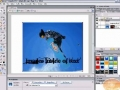 Fireworks Tutorial Create Image inside Text Masking w/ Text - English
