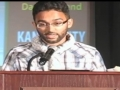 [MC 2011][Poetry Slam] Poetry by Ali Abbas - English