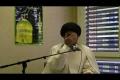 Bad actions destroy ur life  - Molana syed m r jan kazmi  Geneva 2011 mj 2 - English