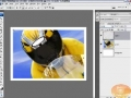 Creating Cool Image Borders w Smart Photos Photoshop Tutorial - English