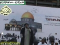 [Quds Day 2011 Karachi] Speech - H.I. Nazir Abbas Taqvi (Sec. Gen. SUC Sindh) - Urdu