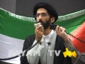 [Al-Quds Day 2011 Chicago, IL] Part 3 - Saher Ahmed & H.I. Suleman - English