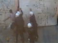 Riot Police Try To Burn Protesters Alive - Bahrain - Part 1 - All Languages